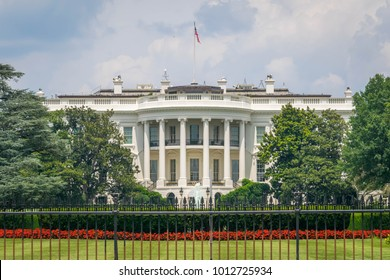 The White House, home of the President of the United States - Washington D.C.