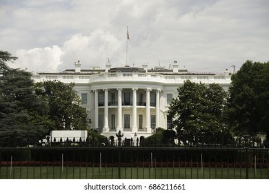 White House in the Nations Capitol of Washington DC