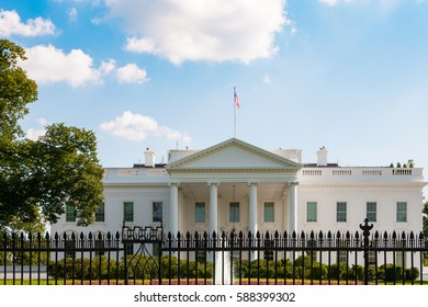 White House on a beautiful summer day, Washington DC, USA