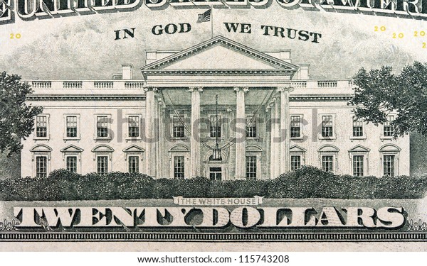 the white house on the twenty dollar bill