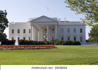 The White House, house of the president in Washington DC