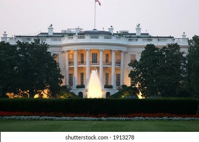 White house, Presidential Residence in Washington, DC.