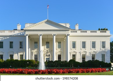 The White House in Spring - Washington DC, United States of America