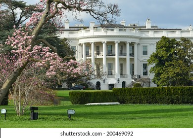 The White House in Spring - Washington D.C. United States of America