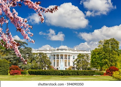 The White House at spring, Washington DC