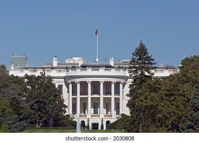 The White House: Telephoto View