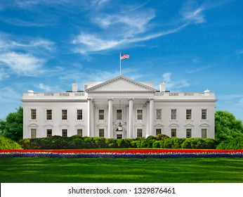 The White House of the United States-USA