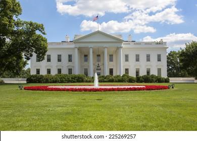 The White House in Washington, America.