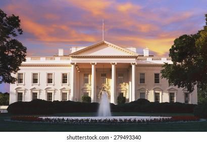 The White House, Washington D.C. at dusk