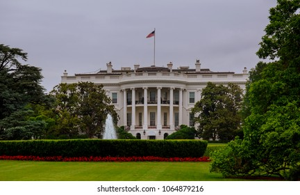 White House in Washington DC, is the home and residence of the President of the United States of America and popular tourist attraction
