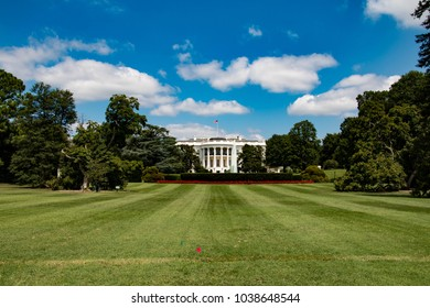 The White House in Washington D.C. is the official residence and workplace of the President of the United States.