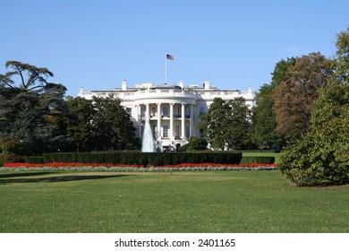 White house Washington DC the presidential residence