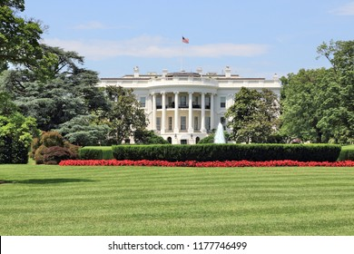 White House in Washington D.C. United States national landmark.