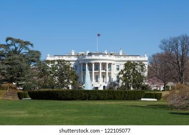 The White House in Washington DC , United States