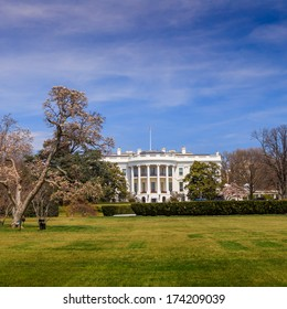 The White House in Washington DC United States