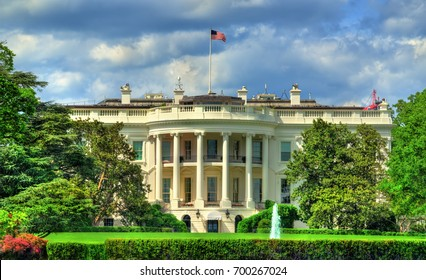The White House in Washington, DC. United States