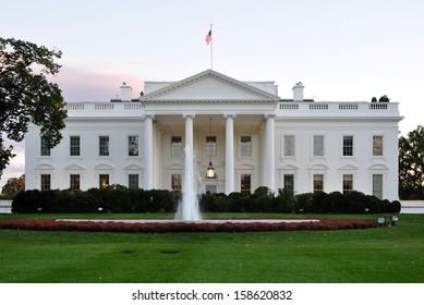 White House in Washington, DC, USA.