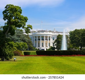 The White House in Washington DC USA United States