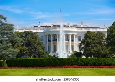 The White House in Washington DC USA United States