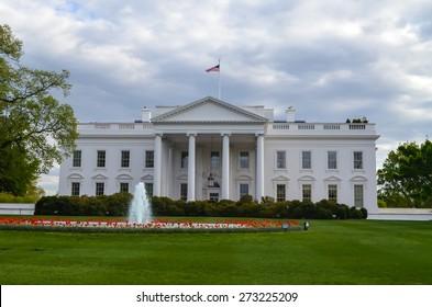 The White House in Washington DC, USA.