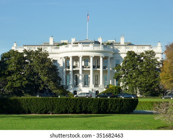 The White House in Washington D.C, USA.
