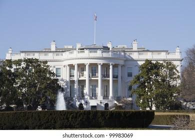The White House in Washington DC ,USA