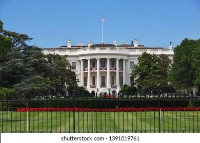 White house in Washington, United States