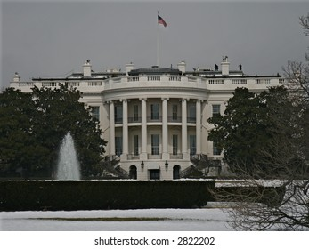 The White House in Winter