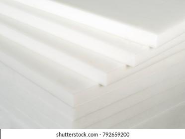white industrial plastic sheet