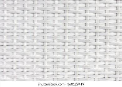 White interlaced pattern