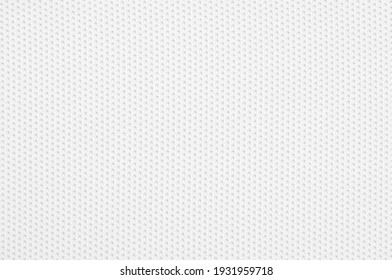 White jersey fabric texture for background.