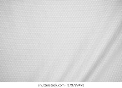 White jersey fabric texture background.