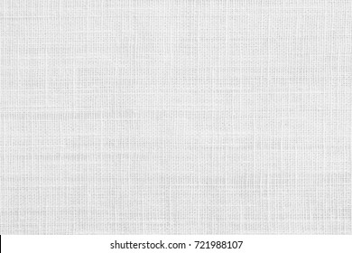 White jute hessian sackcloth canvas sack cloth woven texture pattern background in white light grey color