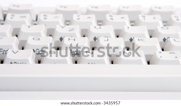 White keyboard 1