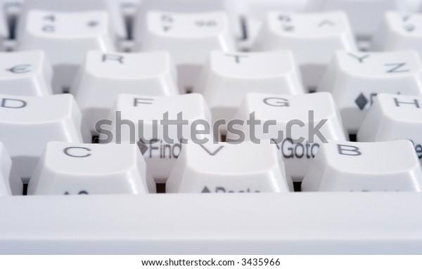 White keyboard 2