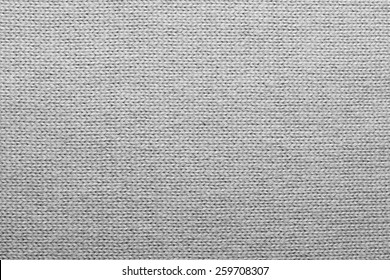 White knitted wool texture