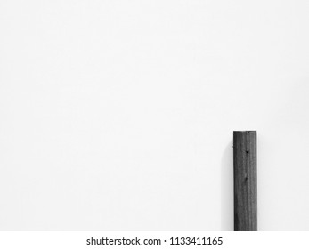 white label with wood