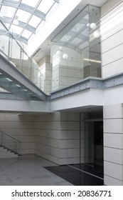 white ladder indoor