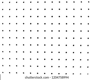 White leather dot texture.  Perforated plate wood background.