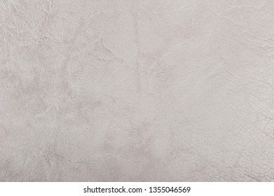 White leather texture as background