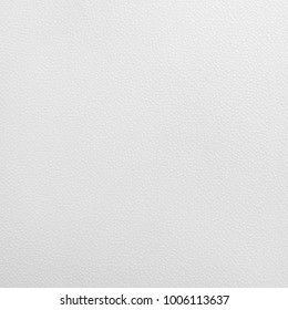 White leather texture. Synthetic material background in rough style.