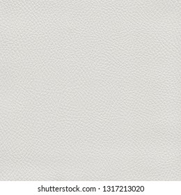 White leather textured background. Vintage fashion background for designers and composing collages. Luxury textured genuine leather of high quality.