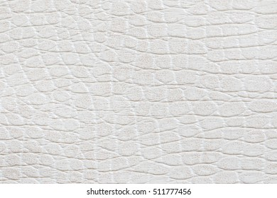 white leatherette texture for background