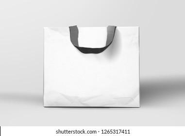 White Luxury Shopping Bag