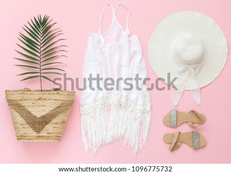 White Macrame Fringe Beach Cover Dress Stock Photo (Edit Now ... 18de21daddb2