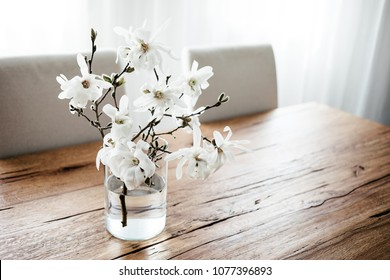 Magnolia In A Vase High Res Stock Images Shutterstock