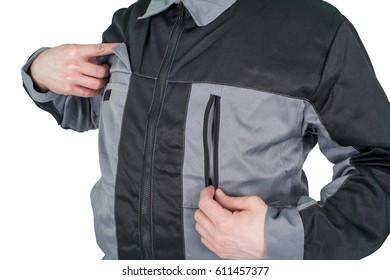 white male Caucasian dressed in a uniform.