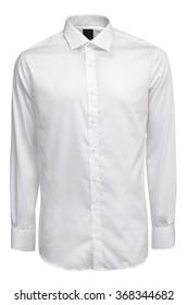 White male shirt