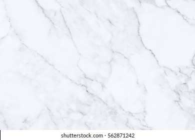 White marble floor texture and background for design pattern artwork.