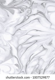 White marble texture for background and design. Natural pattern.